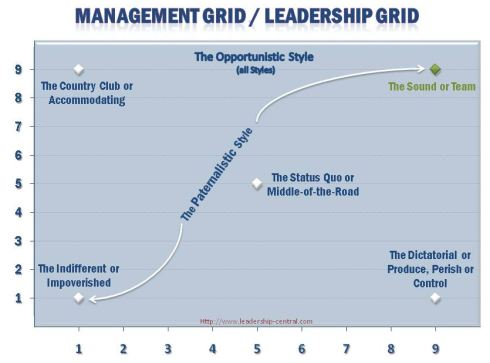 Managerial Grid Model Also Known As Leadership Grid